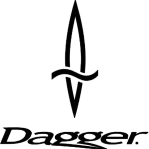 The official logo of title sponsor Dagger