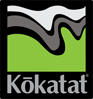 The official logo of category sponsor Kokatat