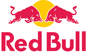 The official logo of title sponsor Red Bull