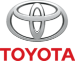 The official logo of title sponsor Toyota