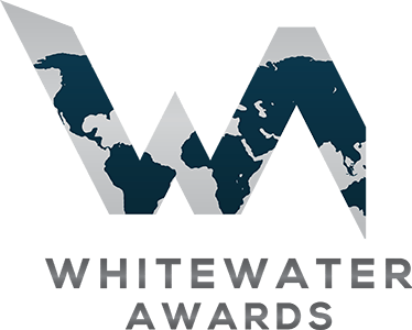 The official logo of the White Water Awards in a transparent square format